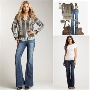 NWT AG The Belle Flare Jeans sz 26